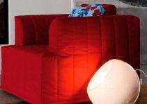 Sillón cama barato de tela