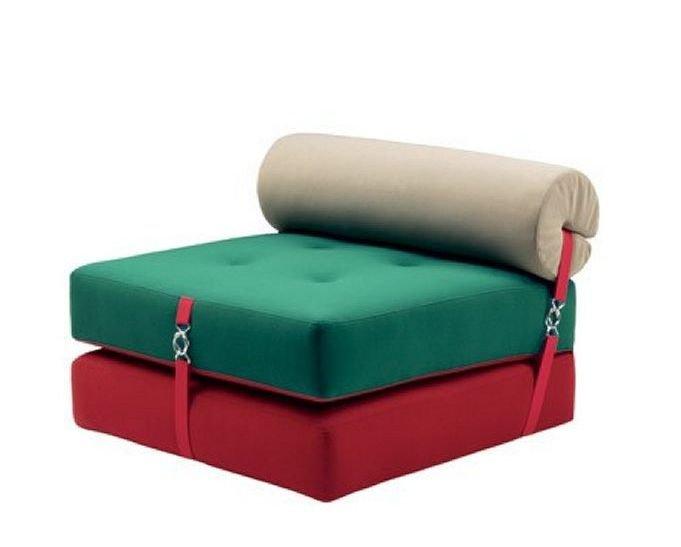 Sillón cama juvenil con sistema convertible
