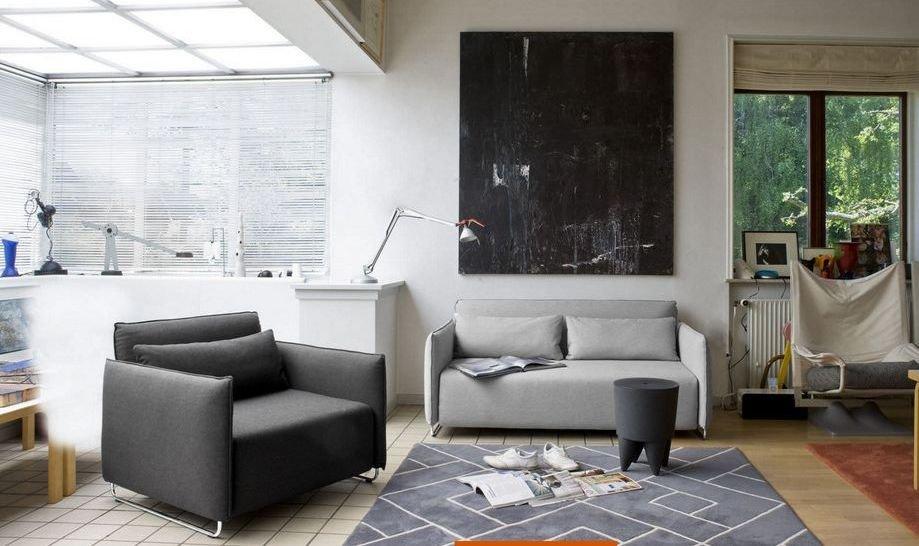 Sillones cama modernos for Sillon diseno moderno