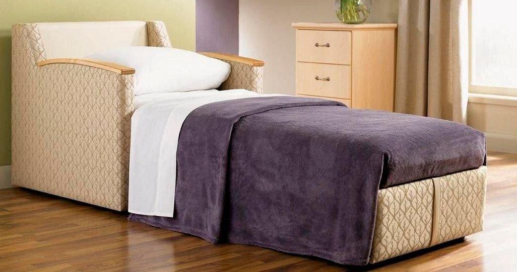 Sillón con cama individual para estudios