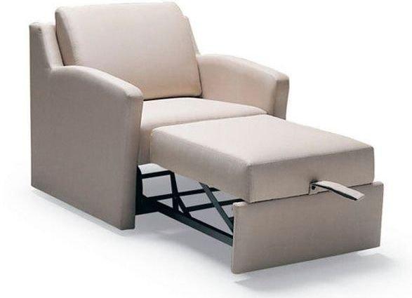 Sillón con cama plegable de diseño