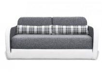 Sillón de 2 plazas con cama de tela