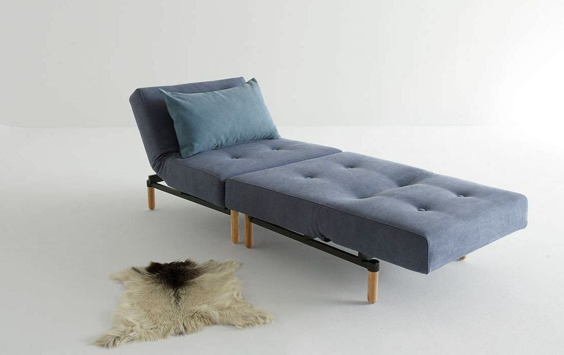Sillón moderno con cama