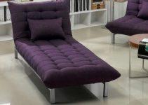 Sillón tapizado en tela cama plegable