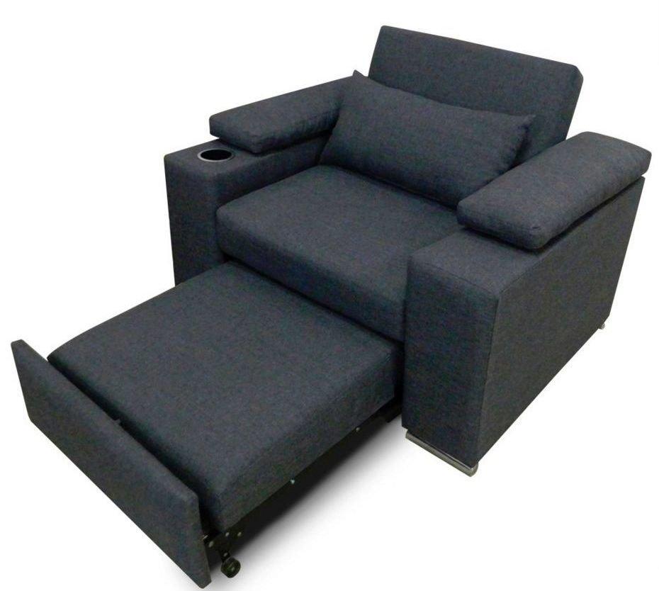 Sofá cama minimalista